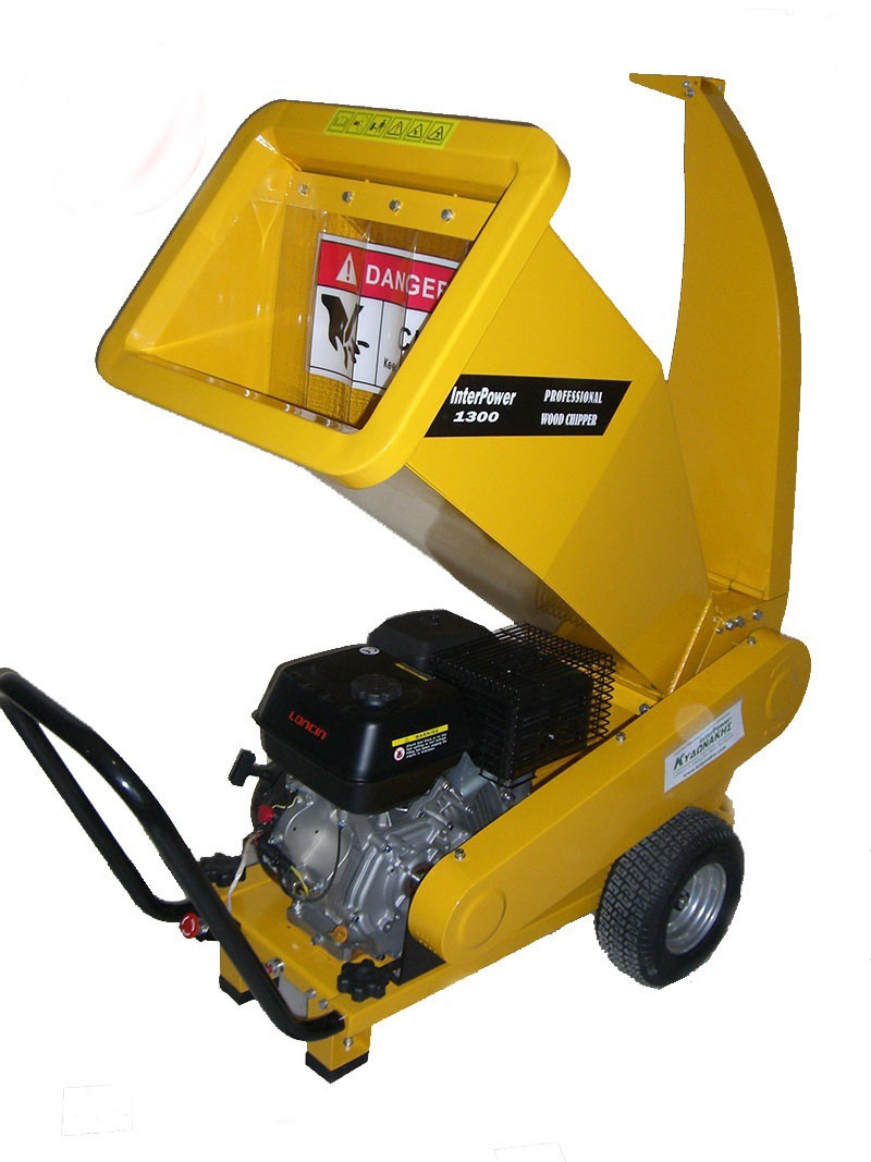 Chipper shredders & pellet machines