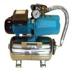 Pressure Tank Set with automatic suction pump JET 150 & ΙΝΟΧ 50Lit horizontal
