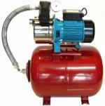 Pressure set with JEXI100 pump and 100 liters horizontal tank