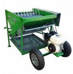 Olive harvesting bench with 2 cylinders and honda gp 160