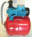 Pressure Tank set with two stages centrifugal pumps 2K-150 (60Lit horizontal)