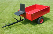 Agricultural trailer  1,00 x 1,50 m