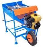 Olive Harvesting bench with 1 wheel Interpower 6,5hp